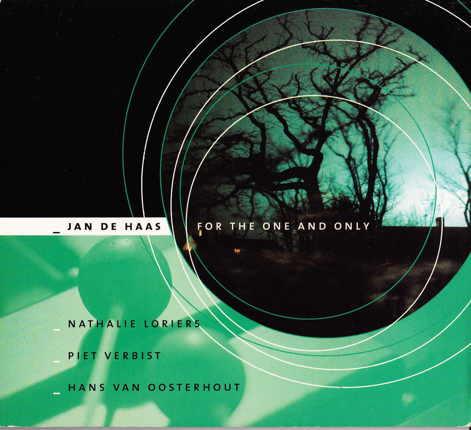 "Jan de Haas Quartet: ""For The One And Only"" ('99)"