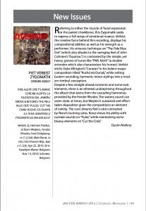 Zygomatik review Cadence Magazine 1_13
